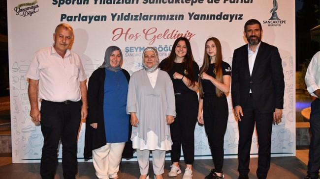 Başkan Şeyma Döğücü, belediyenin sporcuları ve aileleriyle bir araya geldi