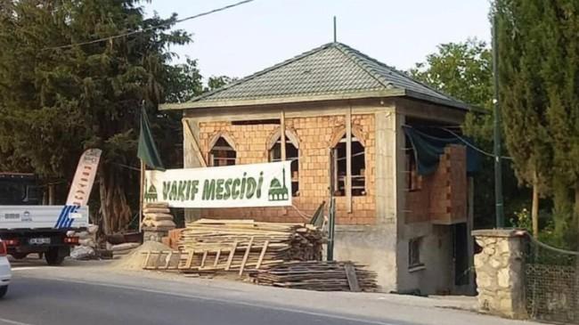Cami satan, cami kapatan, cami yıkan CHP zihniyeti Çatalca'da yeniden hortladı!