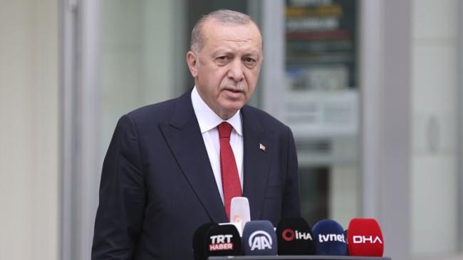 """Cumhurbaşkanı Erdoğan, Büyük Deprem Dönüşümü hareketini ülkemizin dört bir yanında hız kesmeden sürdürüyoruz"""""""