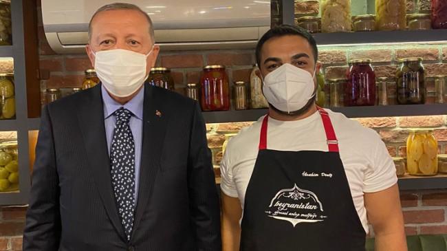 Cumhurbaşkanı Erdoğan, Çengelköylü bir esnafa verdiği sözünü tuttu