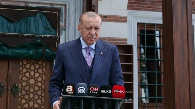 Cumhurbaşkanı Erdoğan, Türkiye'de 1.5 milyon değil, 300 bin Afganistanlı var
