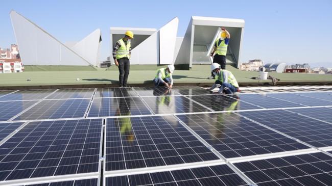 Elektrik üretiminde 'Güneş Enerjisi'nin payı yüzde 7,5'e yükseldi