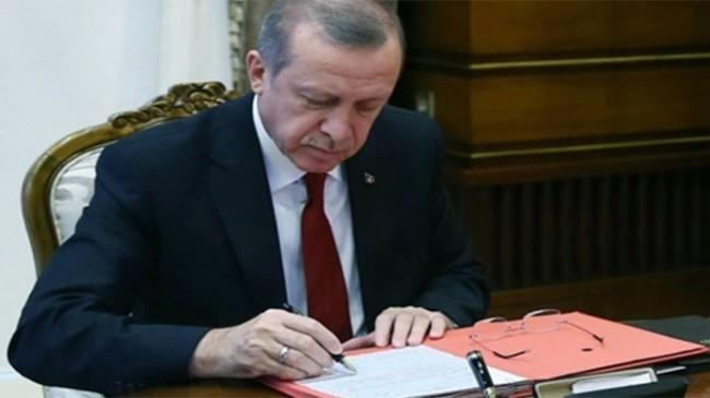 Erdoğan'ın imzasıyla Jandarma Genel Komutanlığı'nda önemli değişikler yapıldı