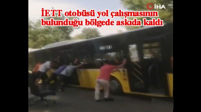 "İBB'den ""Askıda İETT otobüsü!"""