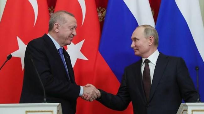 Cumhurbaşkanı Erdoğan Putin'le önemli bir görüşme yaptı, işte detaylar