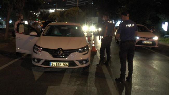 İstanbul'da 35 ilçe ve 166 noktada asayiş uygulaması