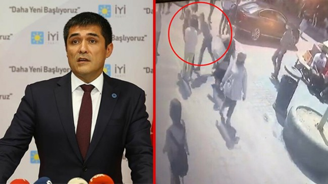 İYİ Parti İl Başkanı Buğra Kavuncu'ya yumruklu saldırı