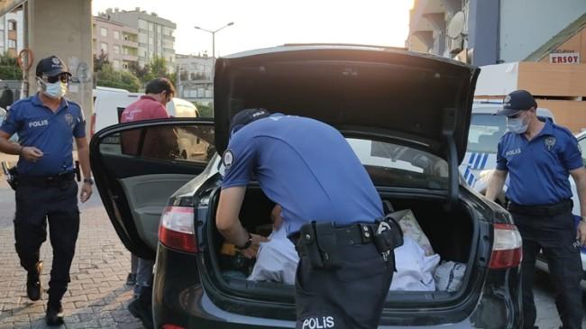 Polisten dar alan uygulaması
