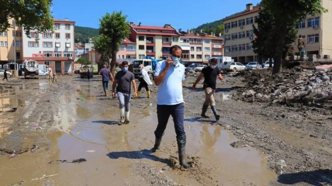 Tecrübeli Kaymakam Murat Atıcı, Bozkurt'ta yaraları sarıyor