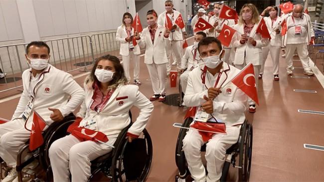 Türkiye Paralimpik Milli Takımı, 13 branşta 87 sporcuyla yarışacak