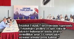 UKOME toplantısında bin yeni taksi plakası  8'inci kez oy çokluğu ile reddedildi
