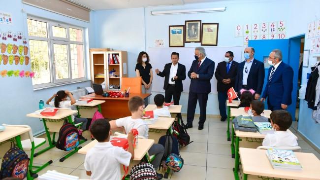 Tuzlalı öğrenciler okullarına kavuştu