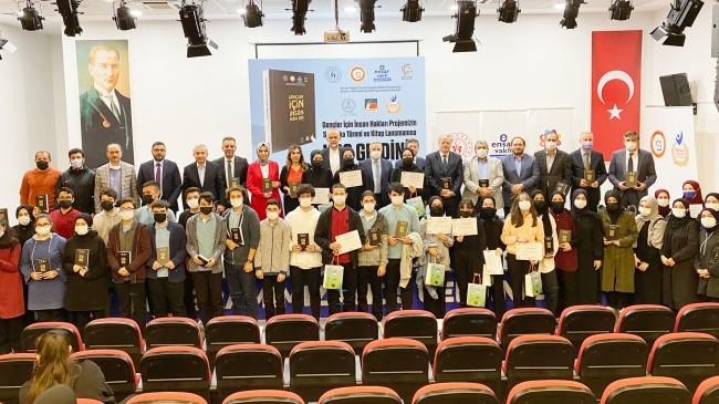 Çekmeköy'de 'Gençler İçin İnsan Hakları' projesi sertifika töreni