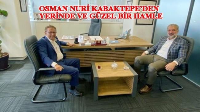 AK Parti İstanbul İl Başkanı Kabaktepe Sözcü gazetesini ziyaret etti