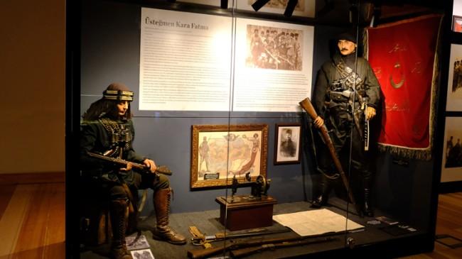 Birinci Dünya Savaşı ve Kurtuluş Savaşı'ndaki kadın kahramanlar sergisi