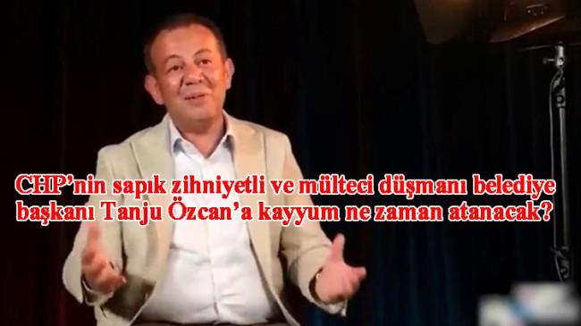 CHP'li aşağılık Tanju Özcan'dan tesettürlü kadına iğrenç ima!