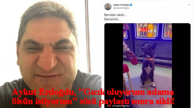 CHP'li Erdoğdu, Cumhurbaşkanı Erdoğan için söylenen skandal sözleri paylaştı!