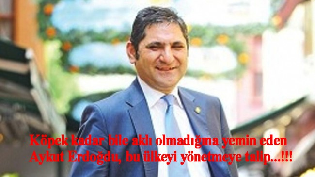 CHP'li vekil Aykut Erdoğdu'dan aklıyla ilgili yeminli itiraf geldi (!)