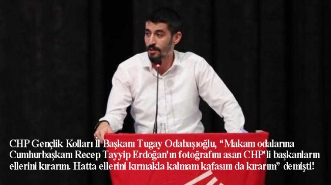 CHP'nin kafa kıran kabadayı gençlik kolları il başkanı gözaltına alındı