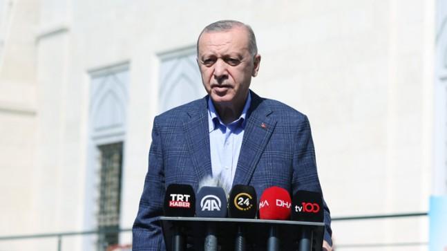 """Cumhurbaşkanı Erdoğan, """"Amerika terör örgütlerine üst düzey destek veriyor"""""""
