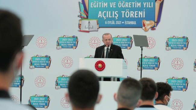 Cumhurbaşkanı Erdoğan eğitimle ilgili önemli açıklamalar yaptı