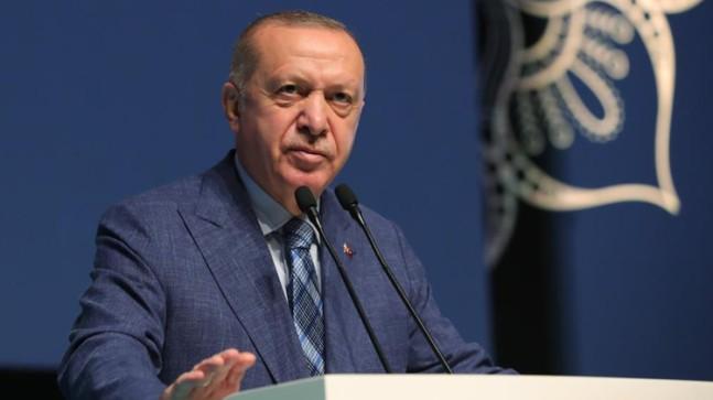 Cumhurbaşkanı Erdoğan, MÜSİAD Olağan Genel Kurulu'nda 2023'e vurgu yaptı