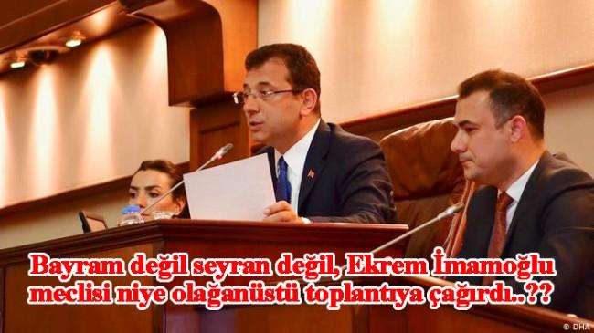 Ekrem İmamoğlu, İSKİ Genel Kurulu için meclisi olağanüstü toplantıya çağırdı