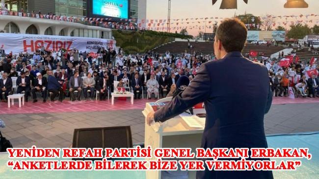 """Fatih Erbakan, """"Milli Görüş sözü veriyorum: göreve gelir gelmez işçiye, memura, emekliye yüze 70 zam yapacağız!"""