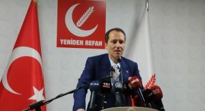 """Fatih Erbakan, """"PCR uygulaması bir zulümdür, bu zulmü durdurun!"""""""