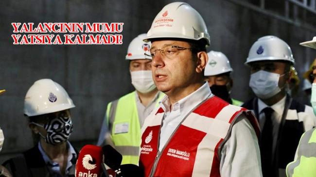 İBB Başkanı Ekrem İmamoğlu'nu kendi daire başkanı yalanladı!