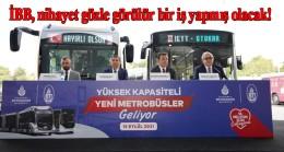 İBB, metrobüs hattına otobüs alıyor