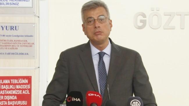 İl Sağlık Müdürü Memişoğlu, koronavirüsle ilgili önemli detayı paylaştı