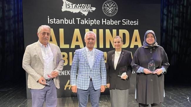 """İstanbul Takipte """"Alanında İz Bırakanlar"""" ödül gecesinin 6'ıncısı gerçekleşti"""