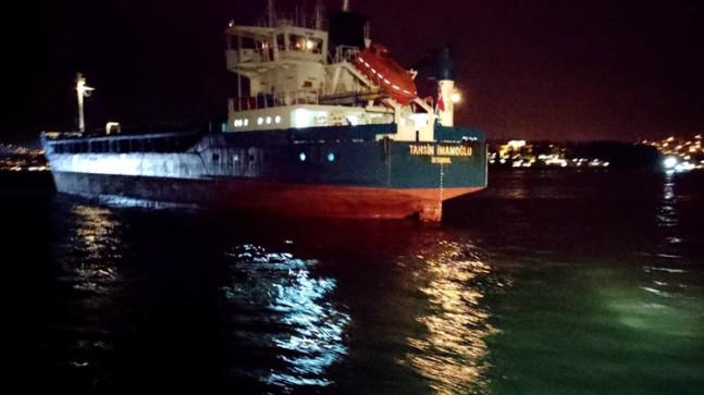 Kanal İstanbul'a karşı çıkanlara duyuru: İstanbul Boğazı'nda 2 gemi kaza yaptı