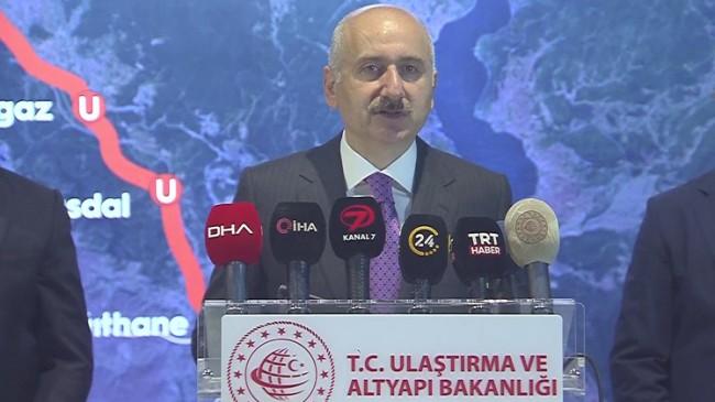 """Karaismailoğlu """"Gayrettepe-İstanbul Havalimanı metro hattı için tarih verdi"""