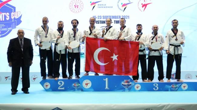Milli taekwondocularımızdan 35 madalya
