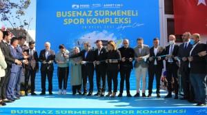 Olimpiyat Şampiyonu Sürmeneli'nin adı Pendik'te spor kompleksine verildi