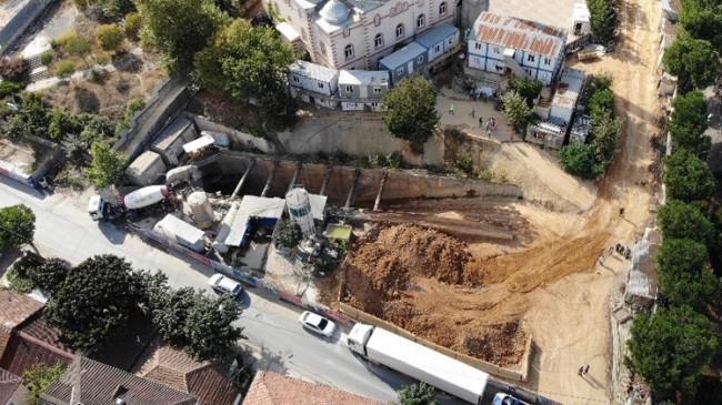 Sancaktepe'de İBB metro inşaatında meydana gelen göçükte kalanlar oldu