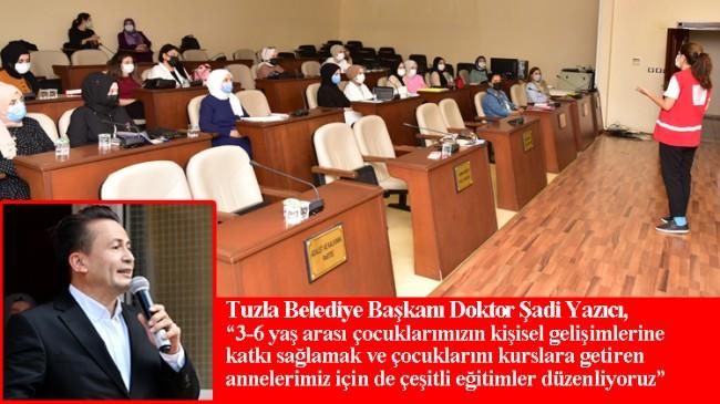 """Tuzla Belediye Başkanı Şadi Yazıcı, """"Ailelerimiz çocuklarını bizlere gönül rahatlığı ile emanet edebilirler"""""""