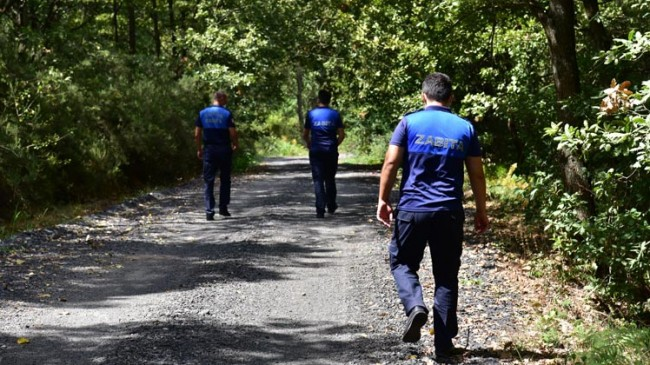 Tuzla'da ormanlar 7/24 denetleniyor
