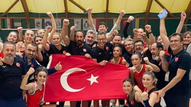 İşitme Engelliler Kadın Voleybol Milli Takımımız Dünya Şampiyonu