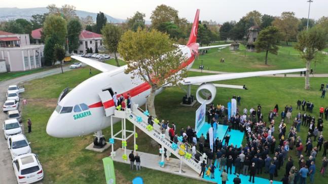 Airbus yolcu uçağı, artık restoran
