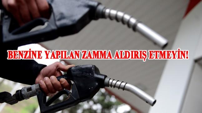 Benzine yapılan zam fiyata yansımayacak!