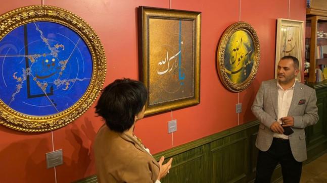 Berceste eserleri Üsküdar'da sanat severlerle buluşturdu
