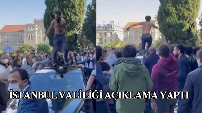 Boğaziçi Üniversitesi'nin öğrenci kılıklı soytarıları gözaltına alındı