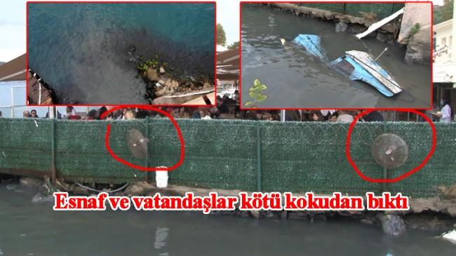 Çengelköy Bekar Deresi'nden gelen kötü kokulara karşı vantilatör önlemi