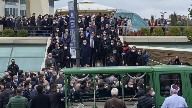 Erdoğan, Ahmet Gür'ün cenazesine katıldı