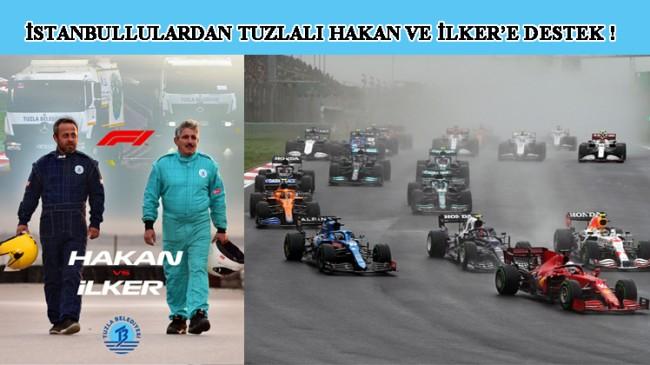 Formula 1 Türkiye Grand Prix'inde start verildi, bütün gözler Hakan ve İlker'in üzerinde!