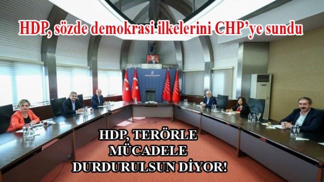 Kandil'in sözcüsü Pervin Buldan, PKK'nın taleplerini CHP'ye iletti (!)