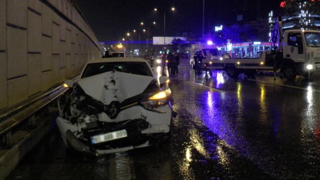 Kadıköy'de zincirleme trafik kazası